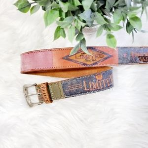 The Limited Leather Belt size Small